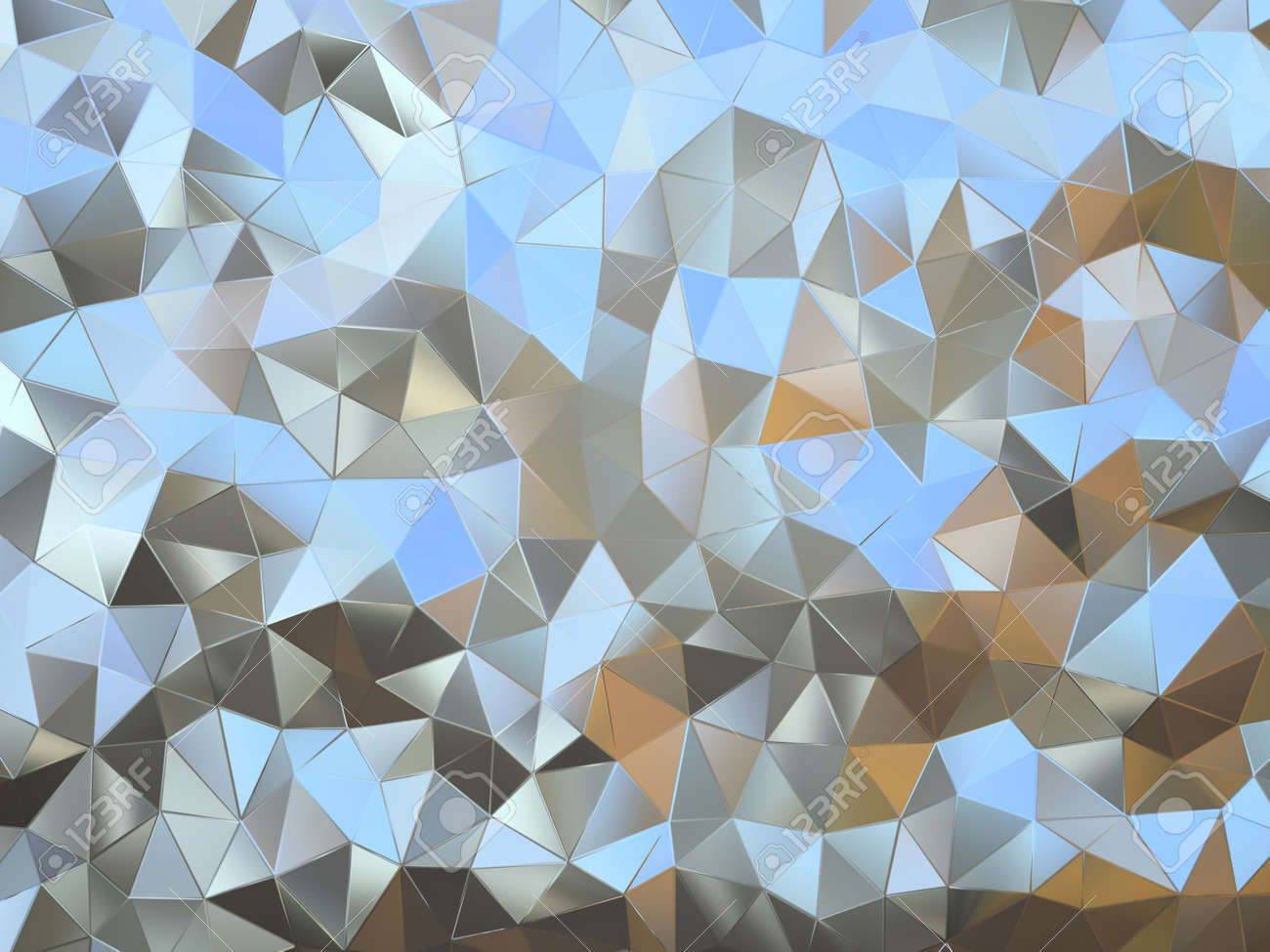 Abstract pattern of small metal pieces illustration Stock Photo - 15698712