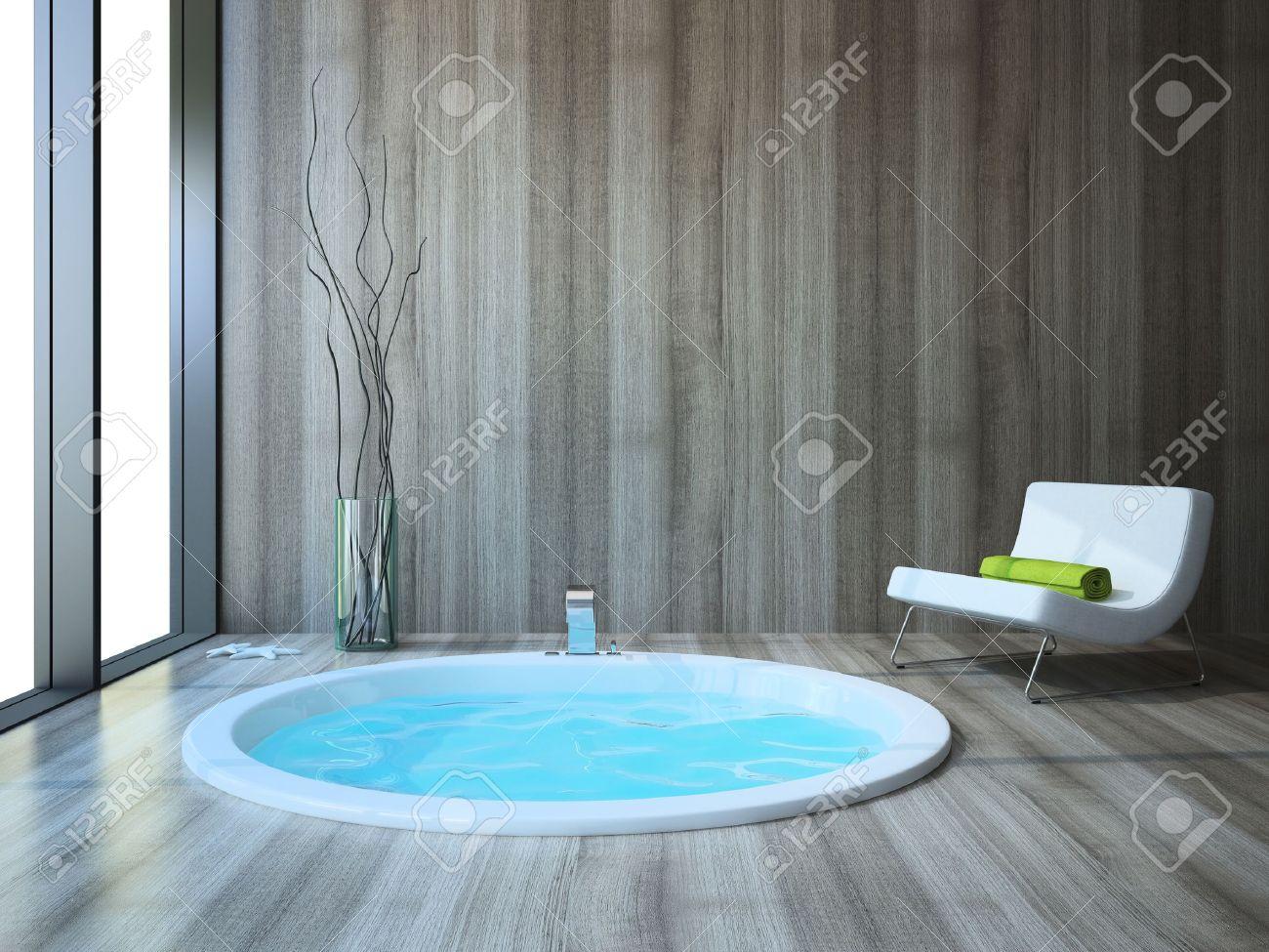 Bathroom in modern style Stock Photo - 19451732
