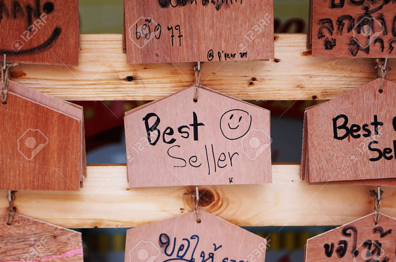 Wooden sign shop selling books greeting customers in the restaurant stock photo wooden sign shop selling books greeting customers in the restaurant opening m4hsunfo