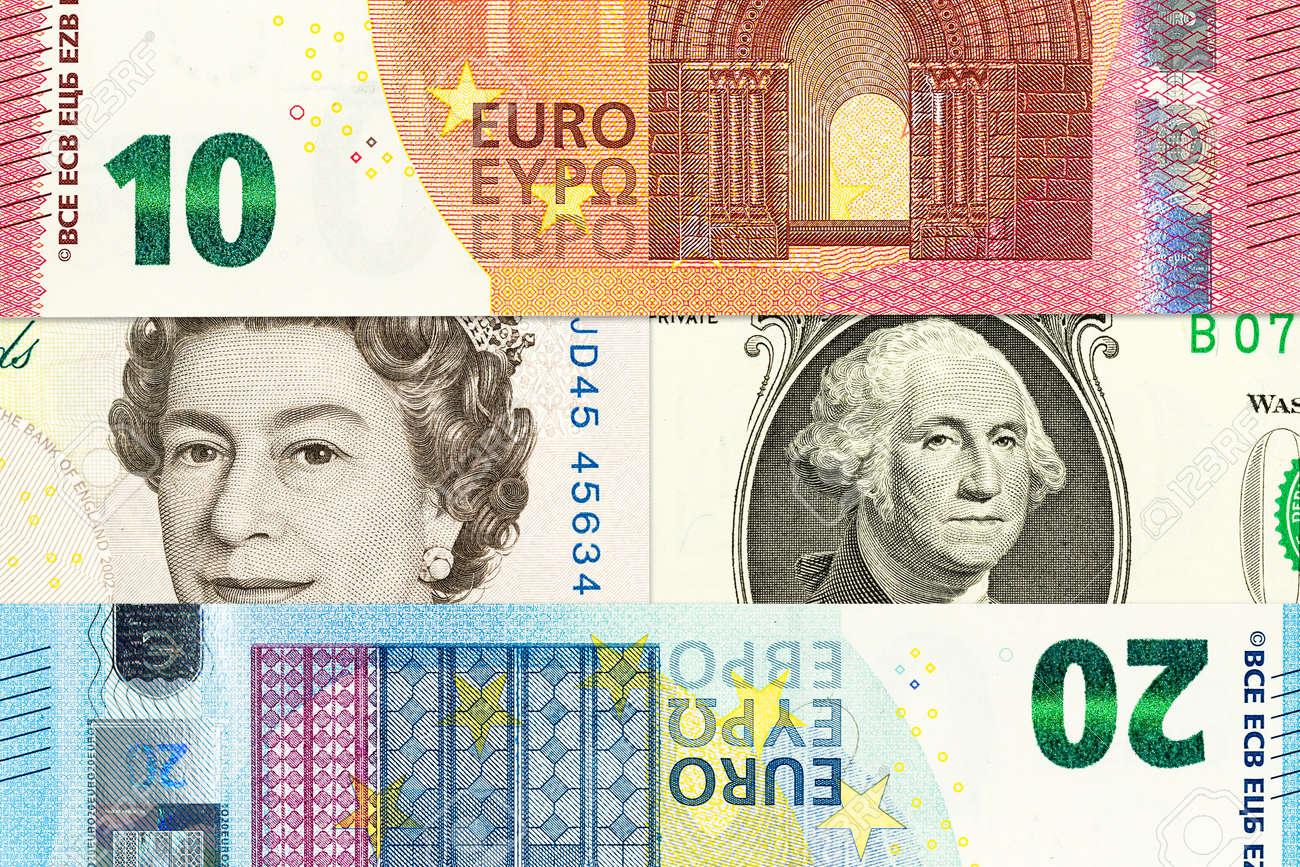 ユーロ、英ポンドを含む国際通貨...