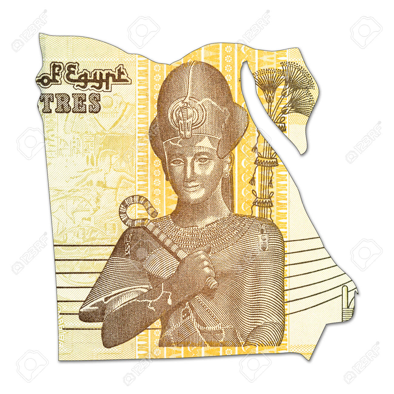 50 egyptian pound bank note in shape of egypt stock photo picture 50 egyptian pound bank note in shape of egypt stock photo 71586868 biocorpaavc Images