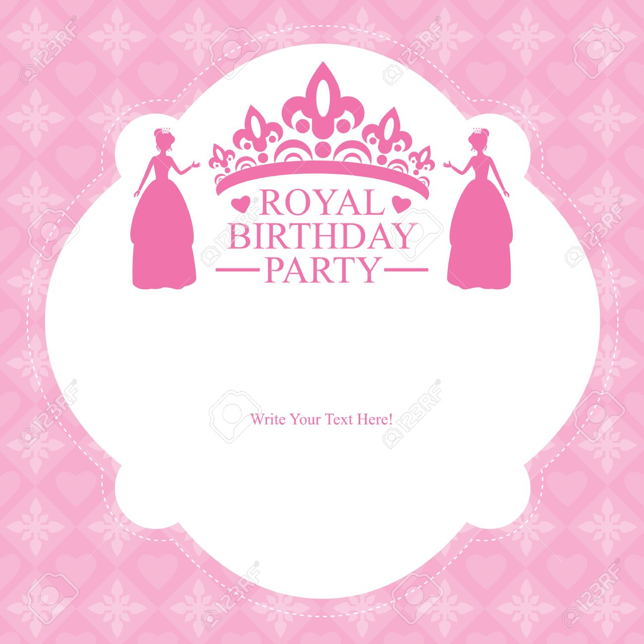 Birthday princess card invitation royalty free cliparts vectors birthday princess card invitation stock vector 29637861 stopboris Choice Image