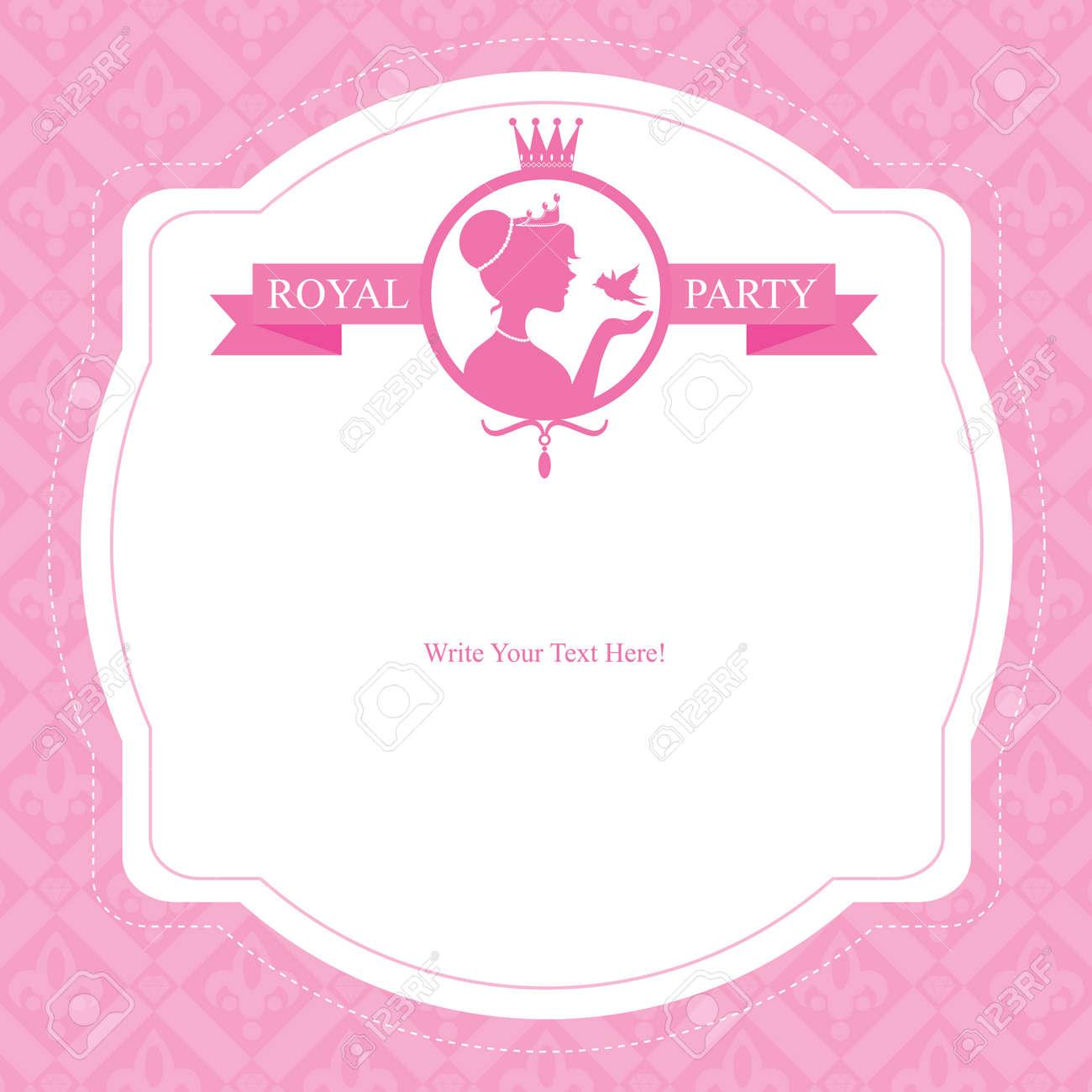 Birthday princess card invitation royalty free cliparts vectors birthday princess card invitation stock vector 29637862 stopboris Image collections