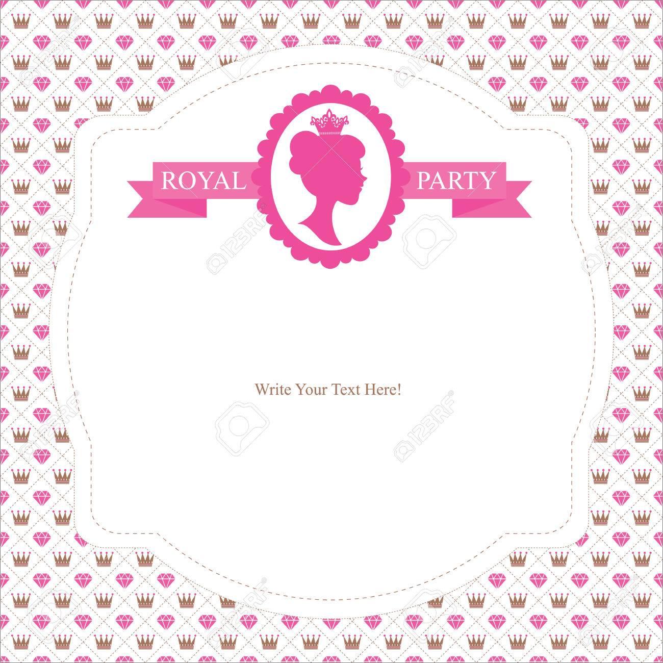 Princess birthday invitation royalty free cliparts vectors and princess birthday invitation stock vector 31158428 stopboris Image collections