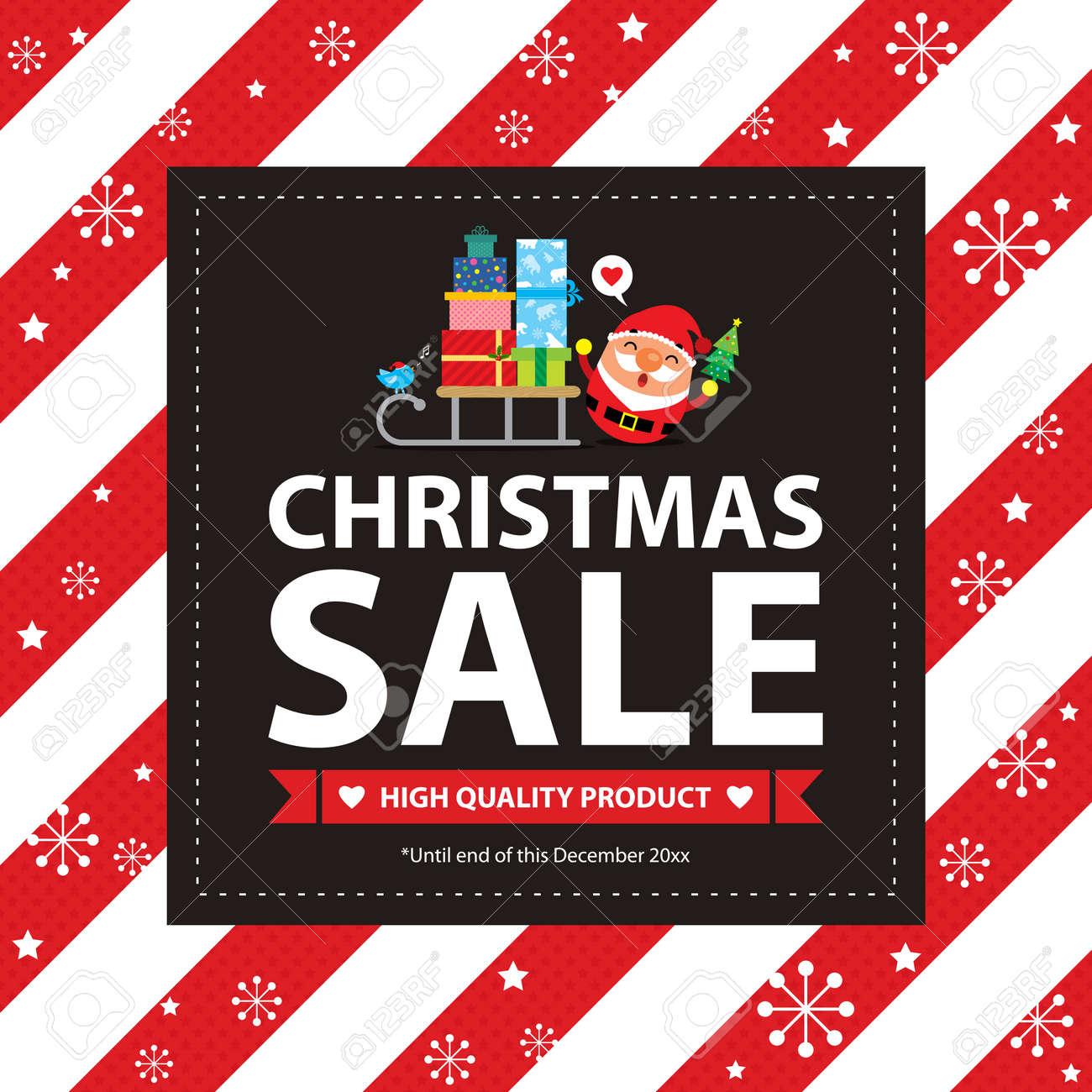 Christmas Sale Card - 46483635