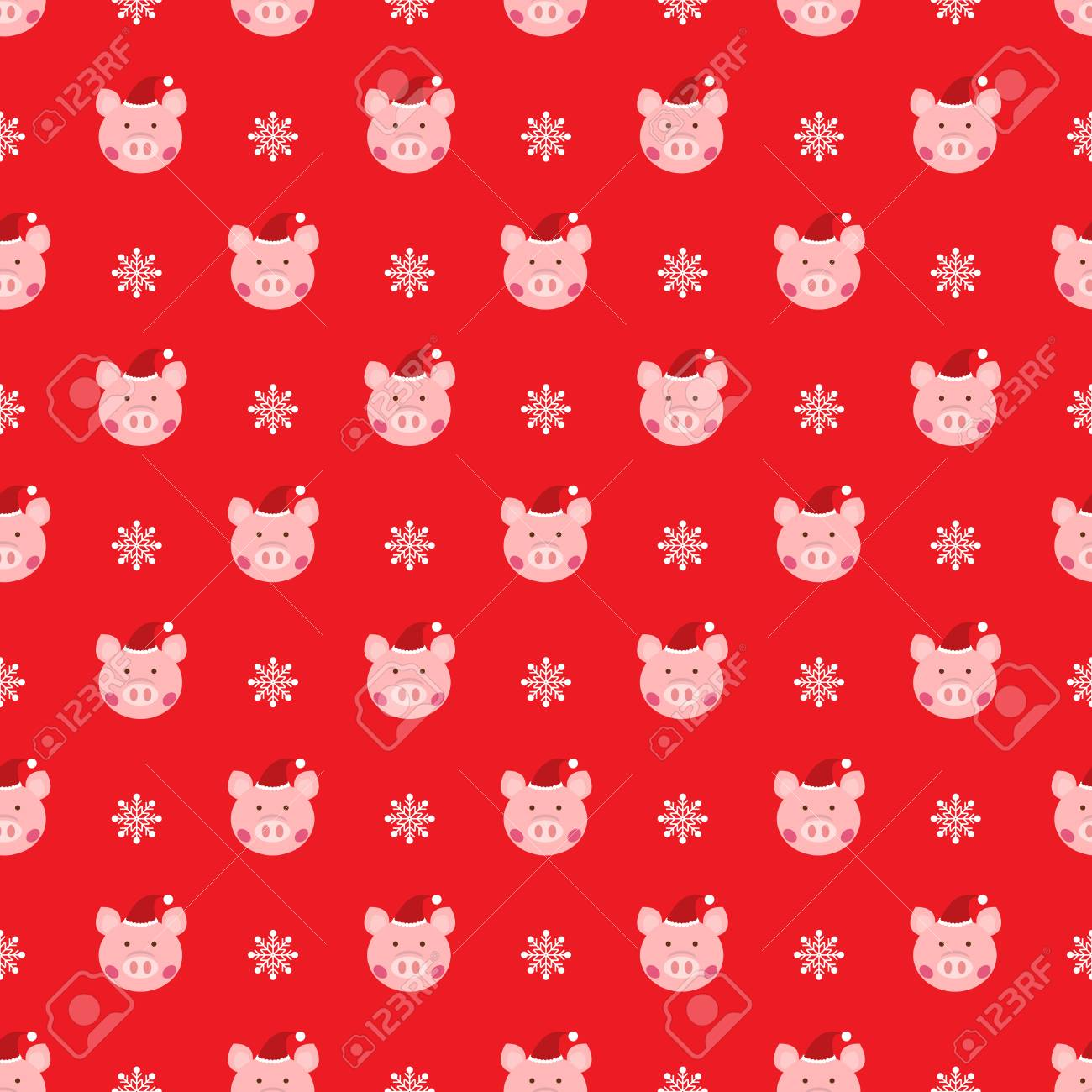 christmas wallpaper pattern with cute pig royalty free cliparts vectors and stock illustration image 113356445 christmas wallpaper pattern with cute pig