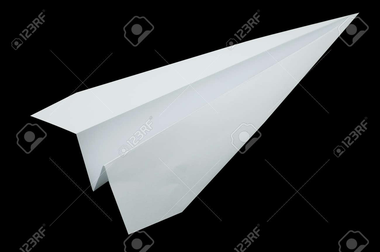 Flugzeug Origami Falten Von Papier In Form Eines Flugzeuges Weisse Farbe Lizenzfreie Fotos Bilder Und Stock Fotografie Image 41302305