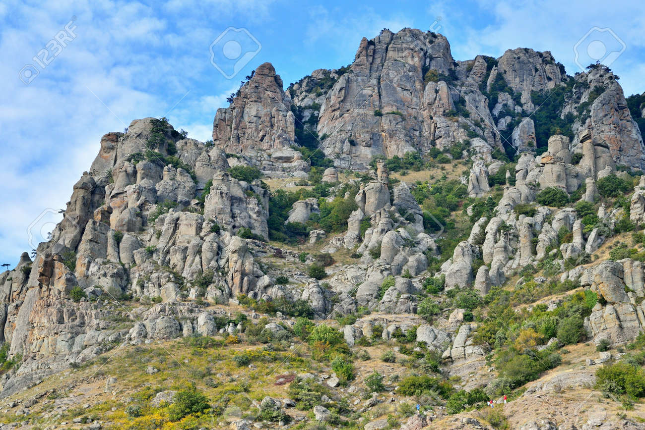 Valley of Ghosts in the Crimea