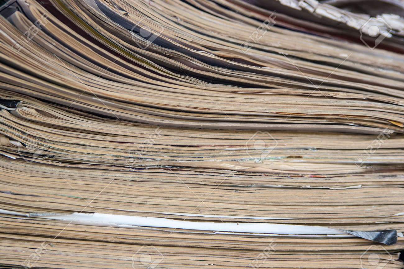 Stack Of Grunge Papers Indoors Stock Photo - 16247417