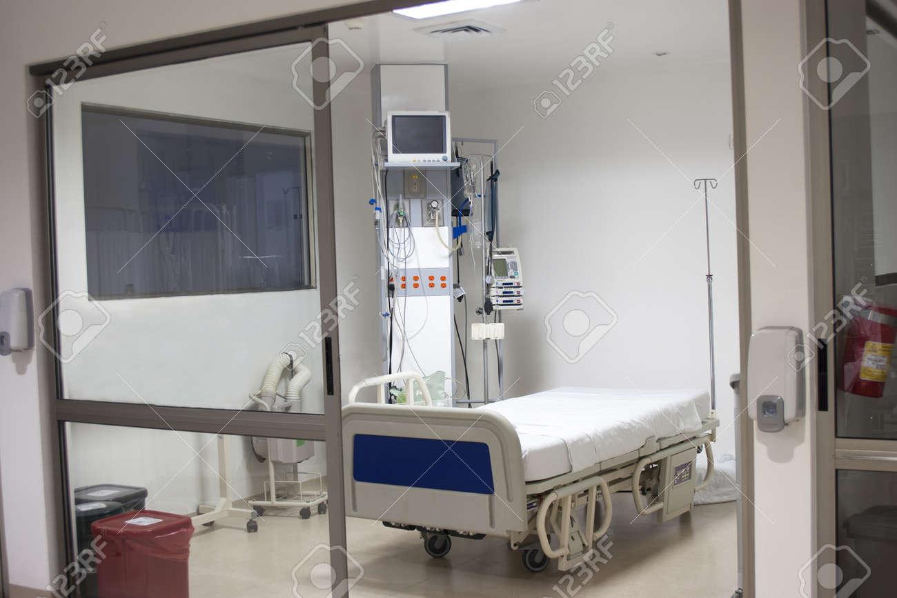 Banque Du0027images   Equipée Intérieur De La Chambre Du0027hôpital à Lu0027intérieur  Du0027un Hôpital Moderne Et Confortable