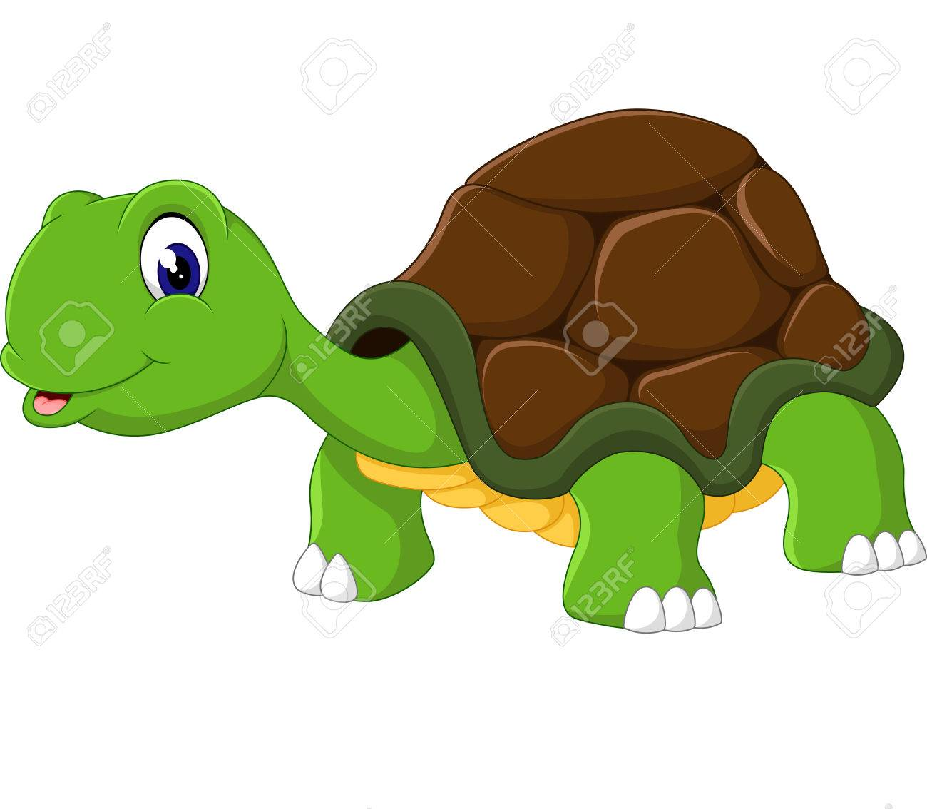 Cute cartoon turtle - 49057458