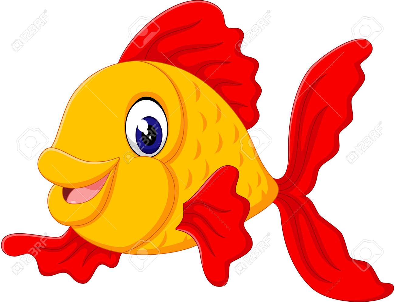 Cute fish cartoon - 50992540