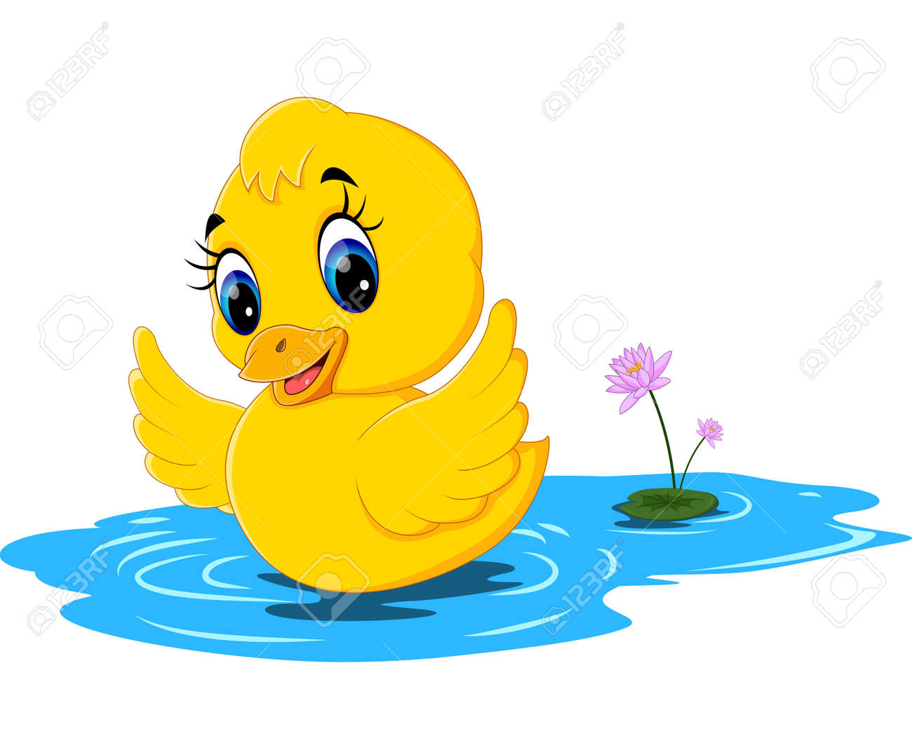 cute baby duck cartoon stock photo picture and royalty free image rh 123rf com cartoon baby duck names cartoon baby duck names