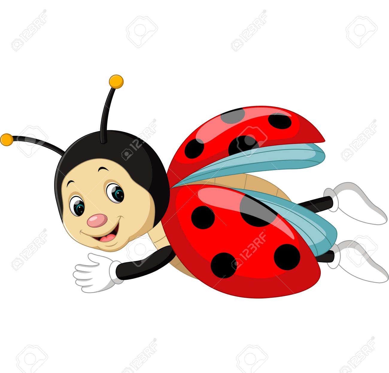 Ladybug Cartoon Stock Vector   68334978