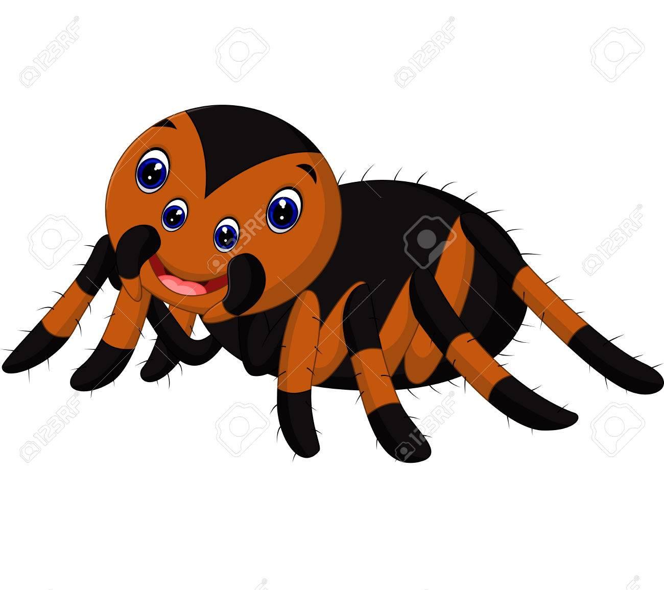 Cute Tarantula Cartoon Stock Photo, Picture And Royalty Free Image ...