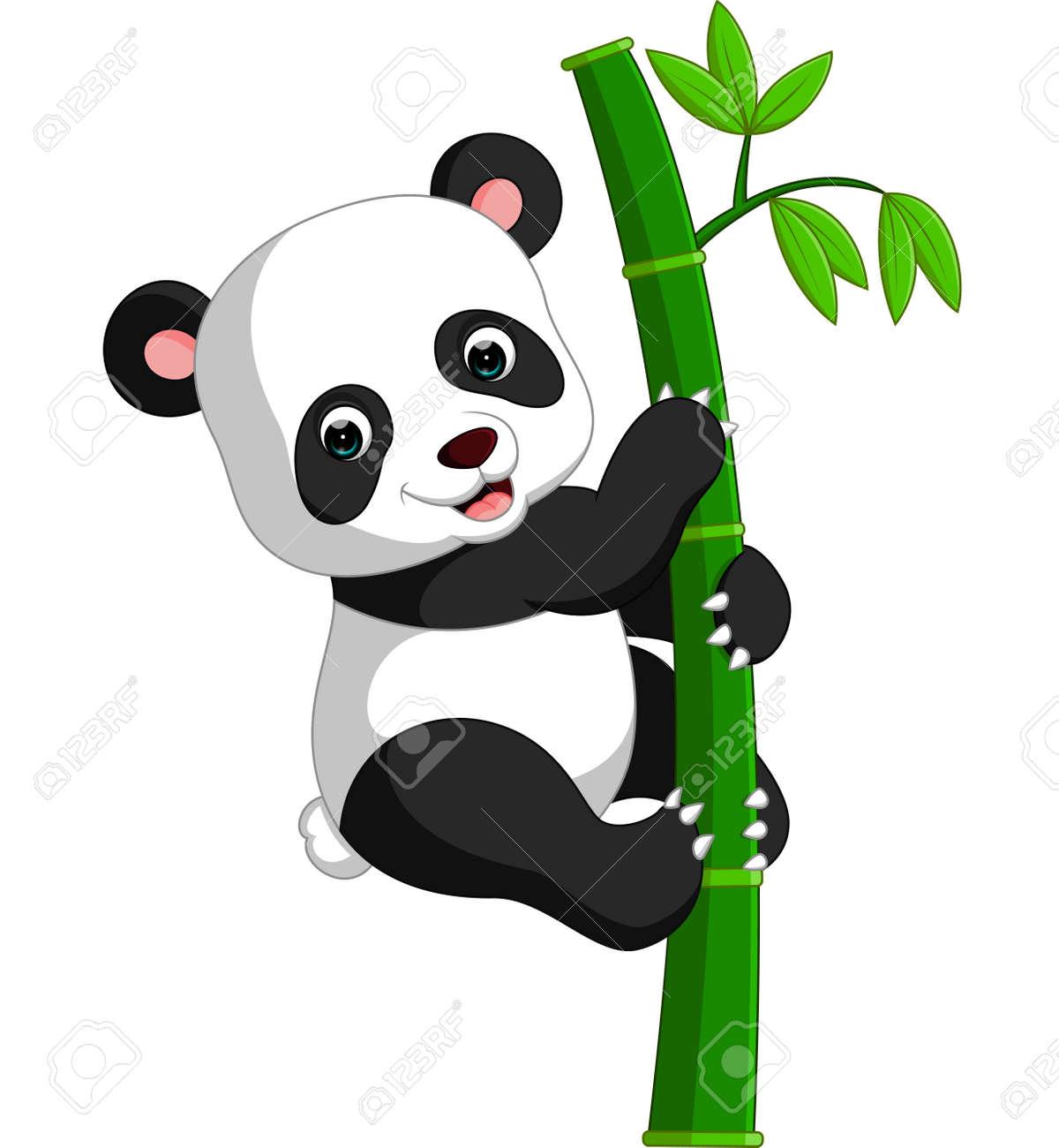 Mignon Dessin Animé Panda