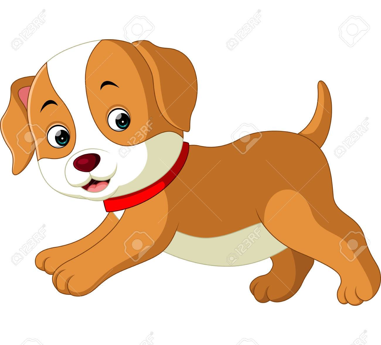 Cute Dog Cartoon Stock Photo Picture And Royalty Free Image Image 73845624