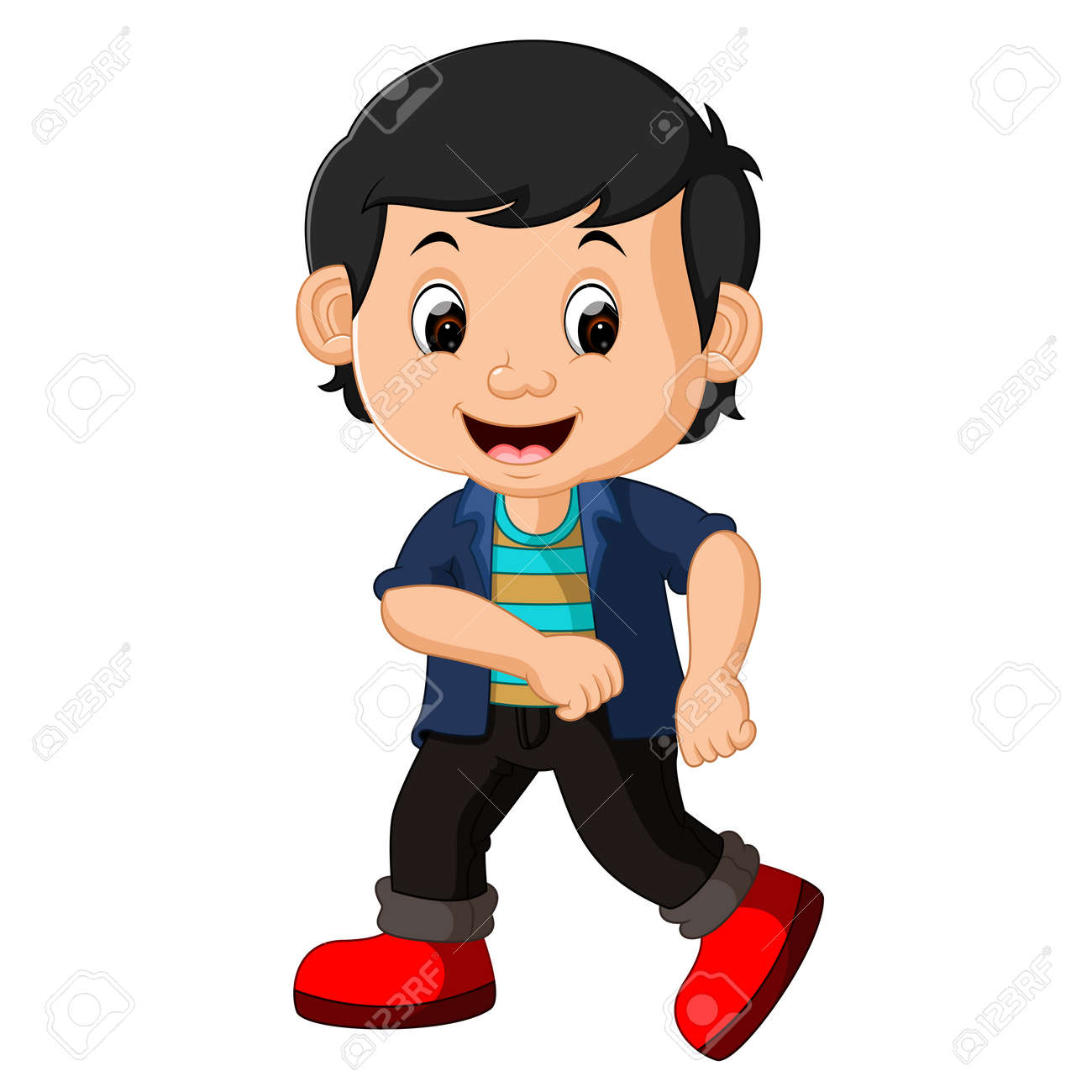 Cute Boy Cartoon Stock Photo Picture And Royalty Free Image Image