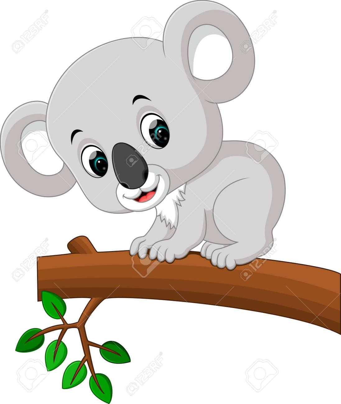 Dessin Anime Mignon Koala Banque D Images Et Photos Libres De Droits