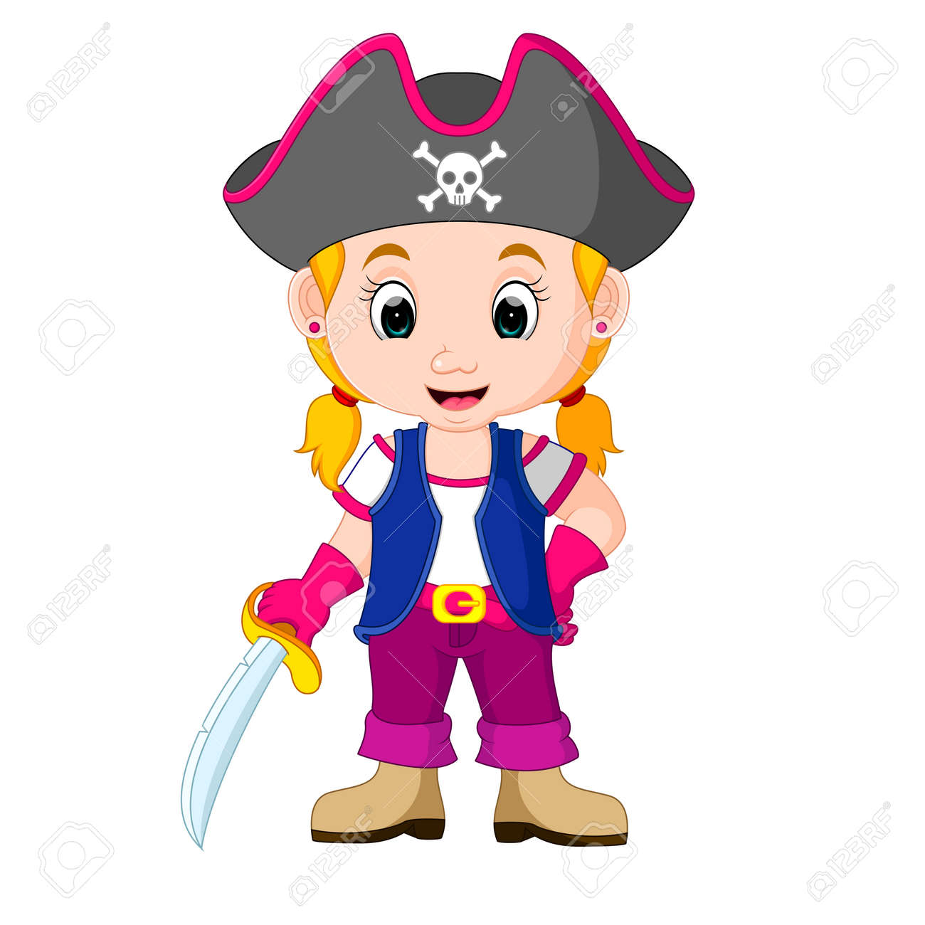 Dessin animé pirate