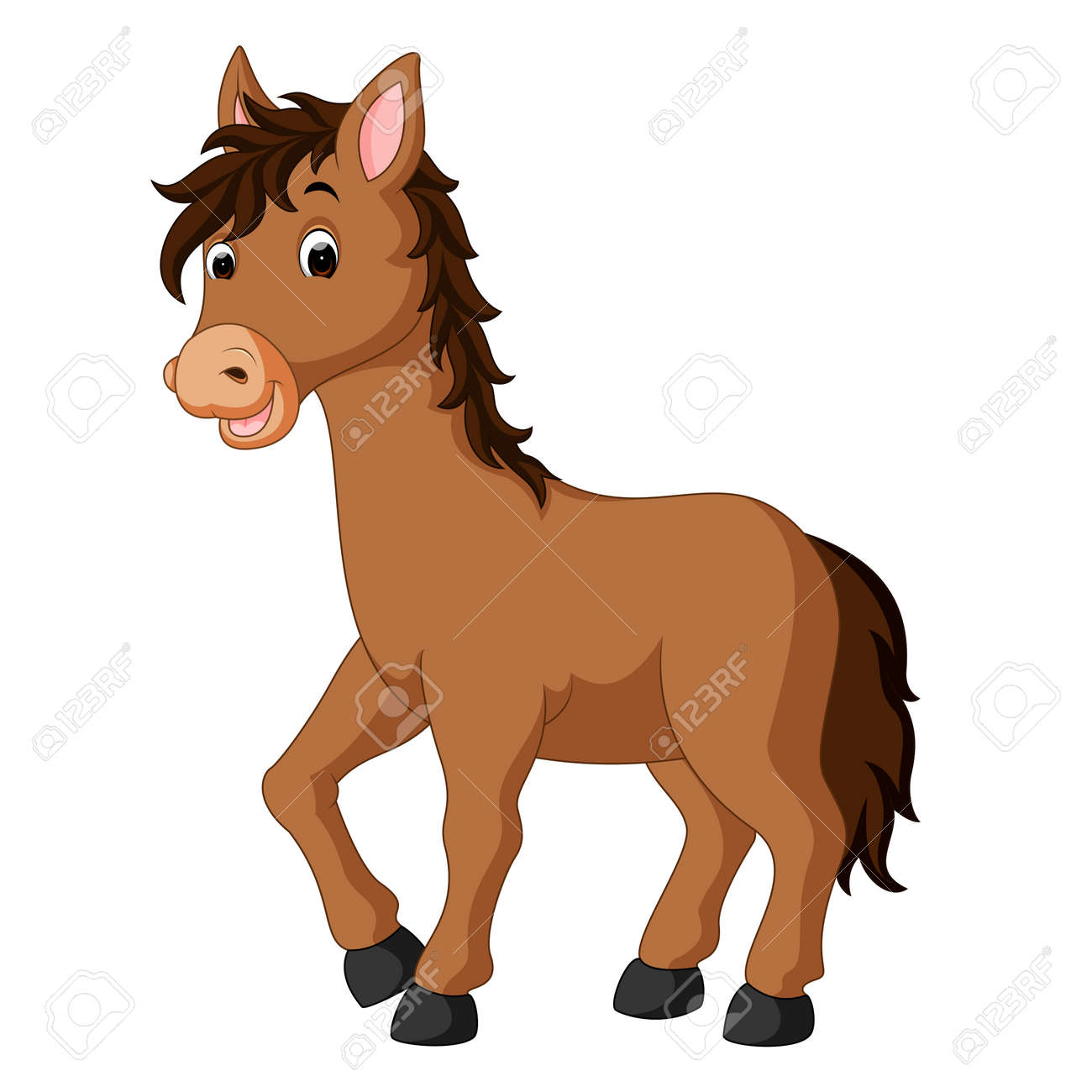 Happy horse cartoon stock photo picture and royalty free image happy horse cartoon stock photo 80905576 publicscrutiny Choice Image