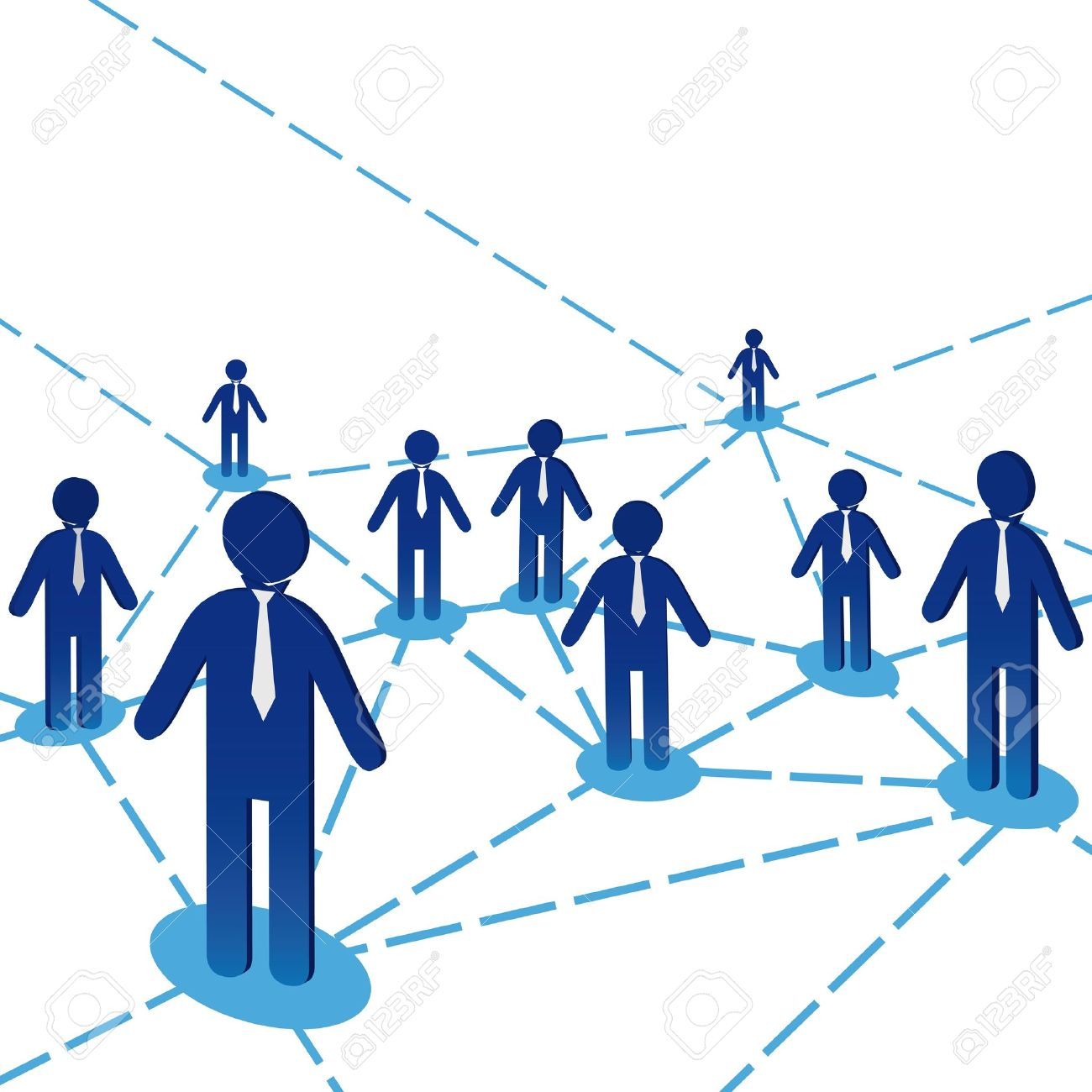Business Team People Diagram Background Network Internet Communiation Vector Illustration Stock 9314792