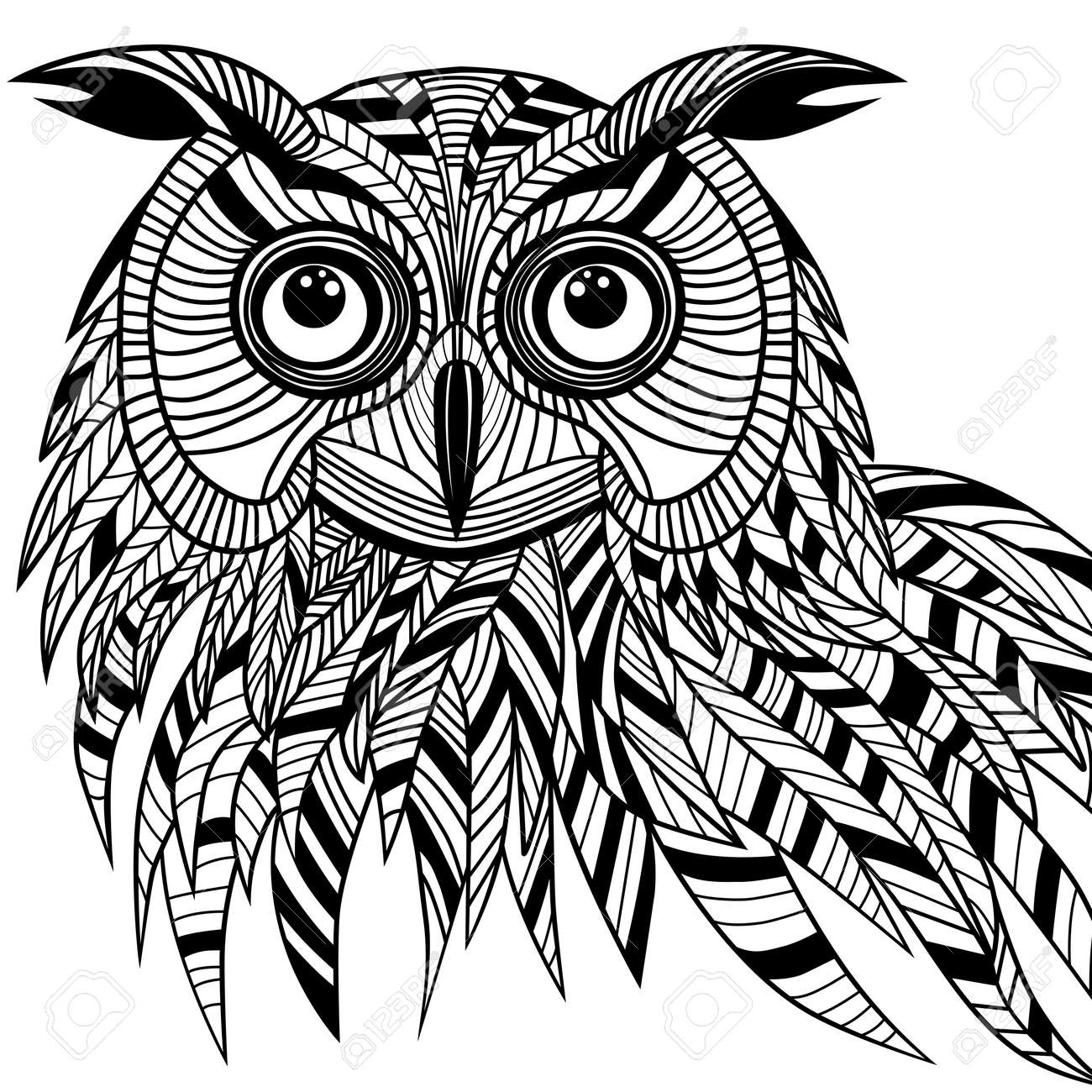 owl tattoo stock photos u0026 pictures royalty free owl tattoo images