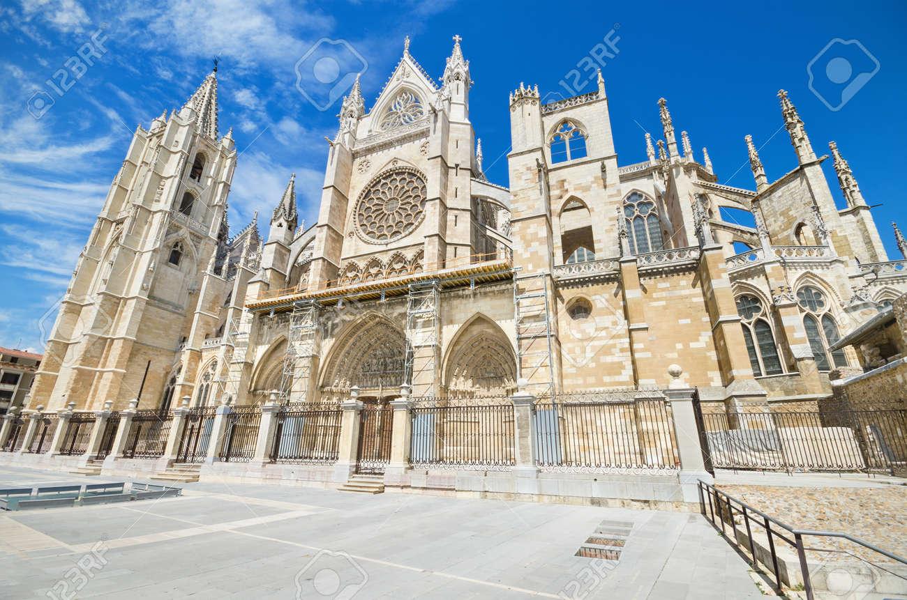 Leon Cathedral, Castilla y Leon, Spain. - 31181299