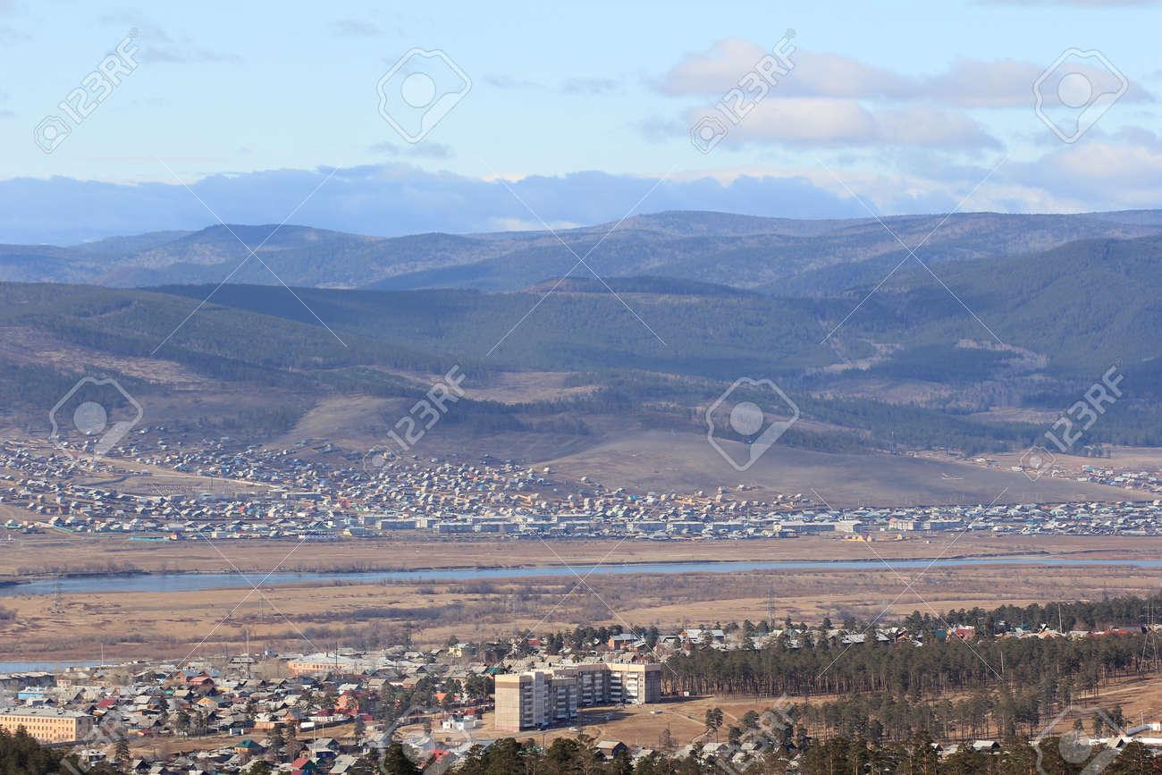Outskirts of the city, Ulan-Ude Stock Photo - 15386433