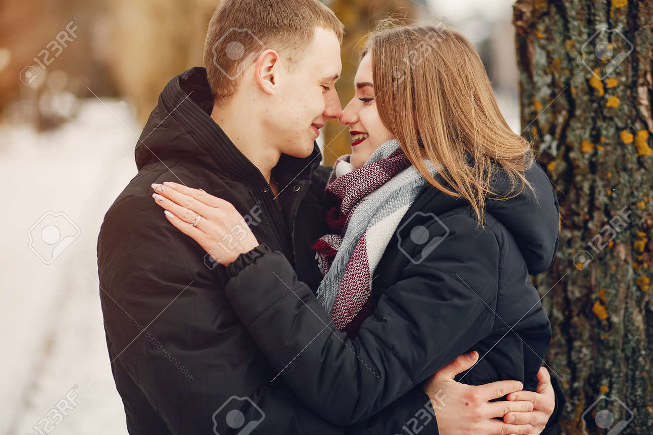 couple in a park - 121621781