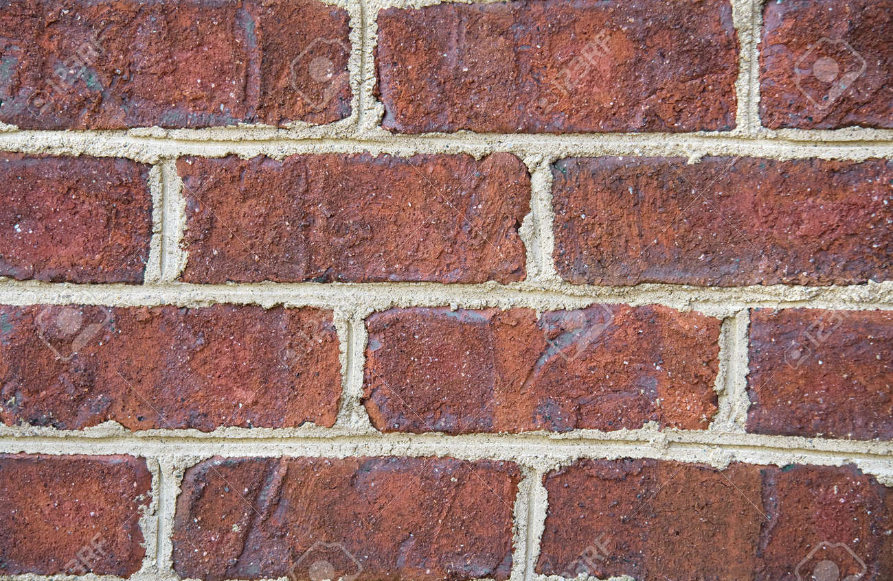 Close up background of a brick wall. Stock Photo - 4361282