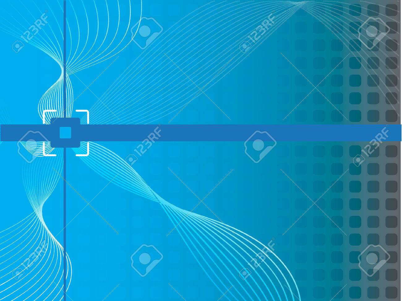Vector - Wavy wireframe mesh on a retro background. For background use, concept: digital age. Stock Vector - 1862284