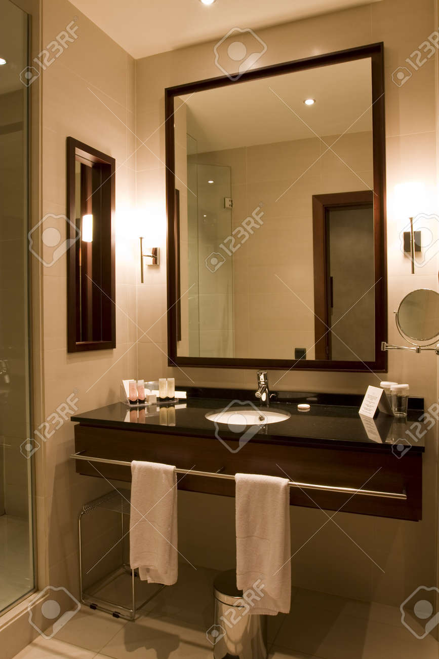 Elegant 5 Star Hotel Or Apartment Luxury Bathroom Stock Photo Picture And Royalty Free Image Image 4290796