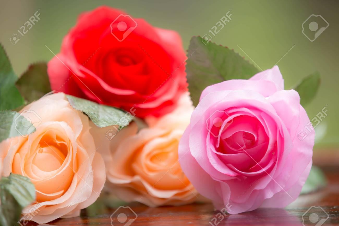 Roses made of fabricbeautiful flowers stock photo picture and roses made of fabricbeautiful flowers stock photo 81551228 izmirmasajfo