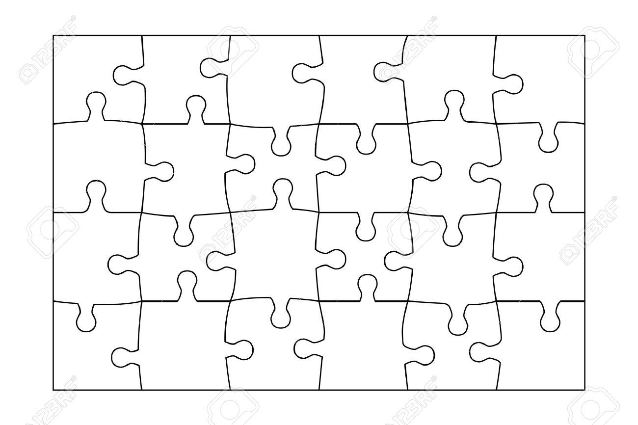 Beste 24 Stück Puzzle Vorlage Fotos - Entry Level Resume Vorlagen ...