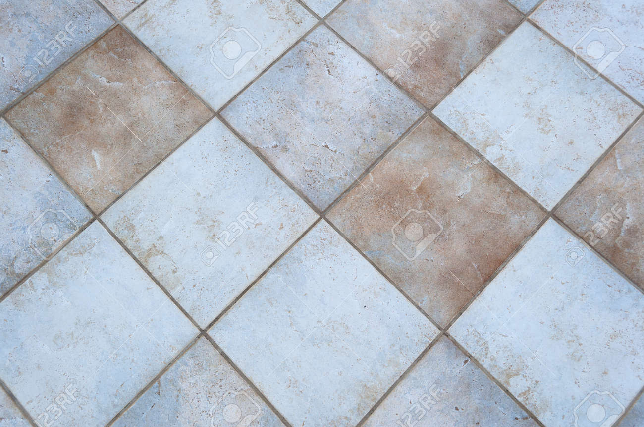 Squared Tiles Of A Patio Floor Stock Photo, Picture And Royalty Free ...