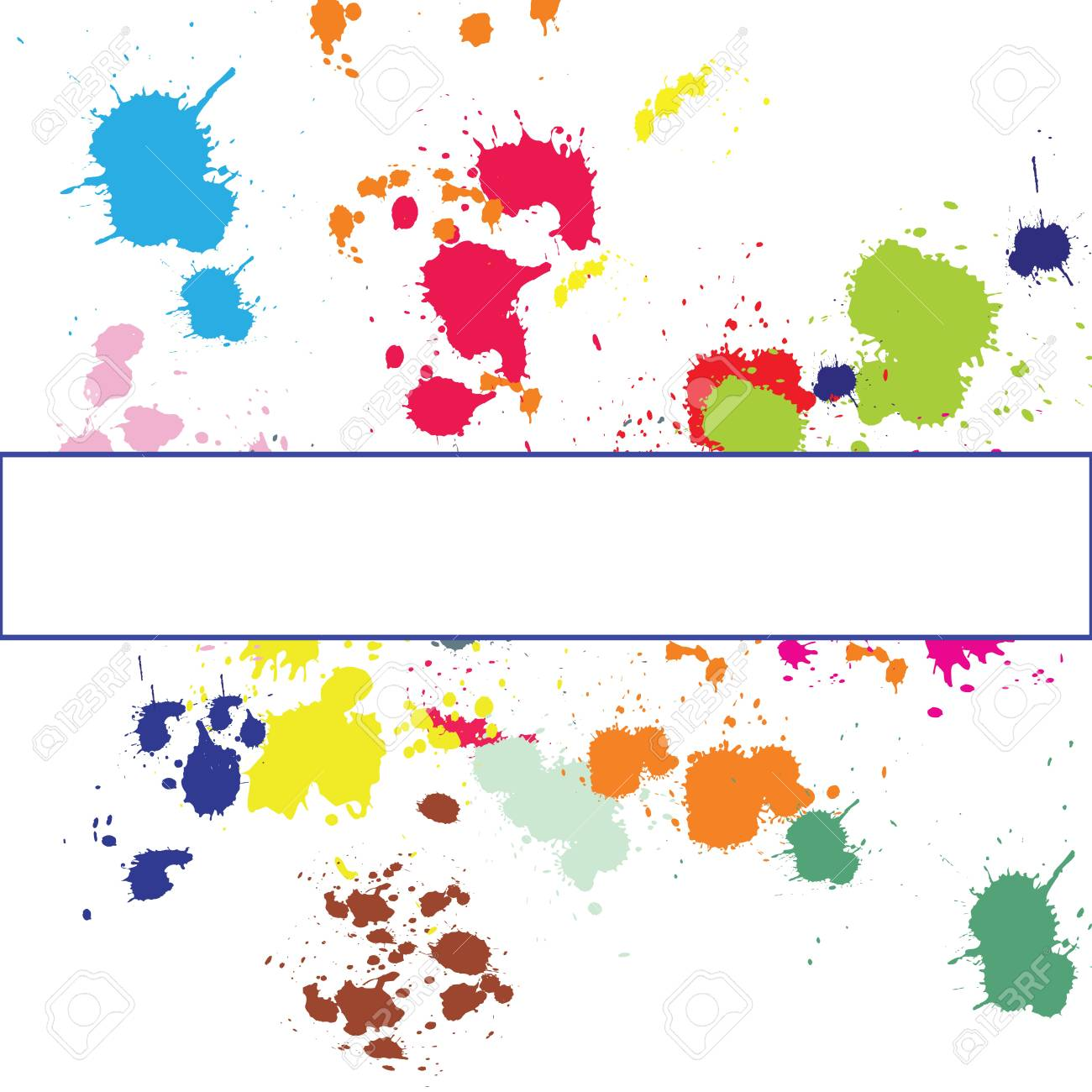 Background with ink spots Stock Photo - 7032236