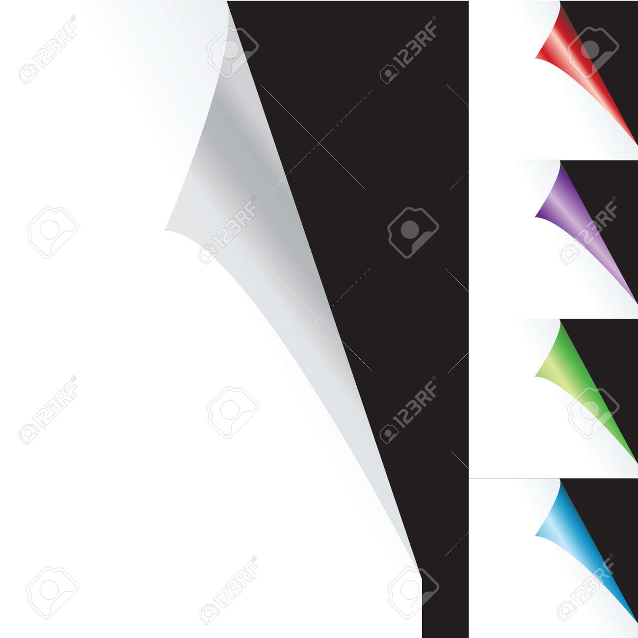 Background with sticker pages Stock Photo - 7321267