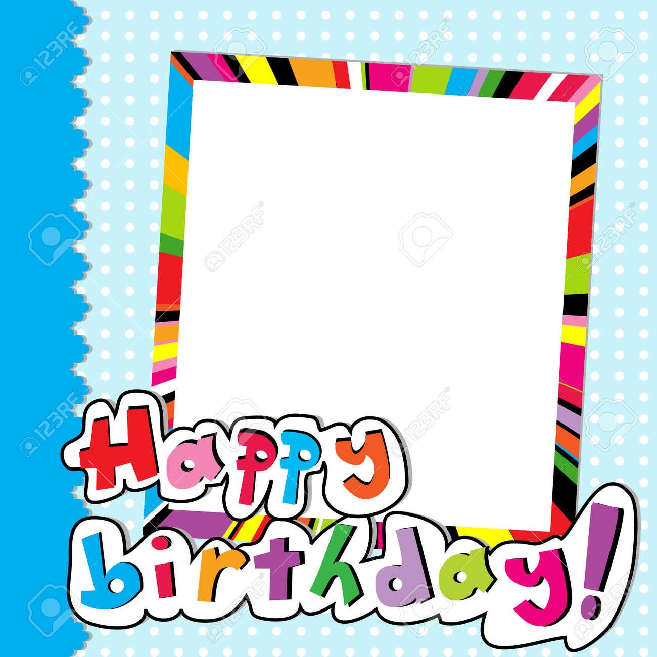 Happy Birthday Scrapbook For Baby Boy Royalty Free Cliparts, Vectors ...