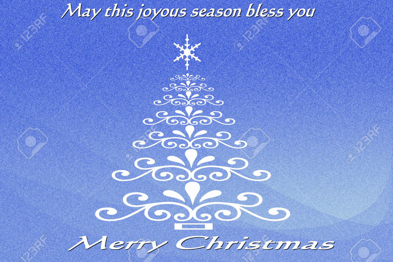 Blue Christmas Stock Photo - 5384612