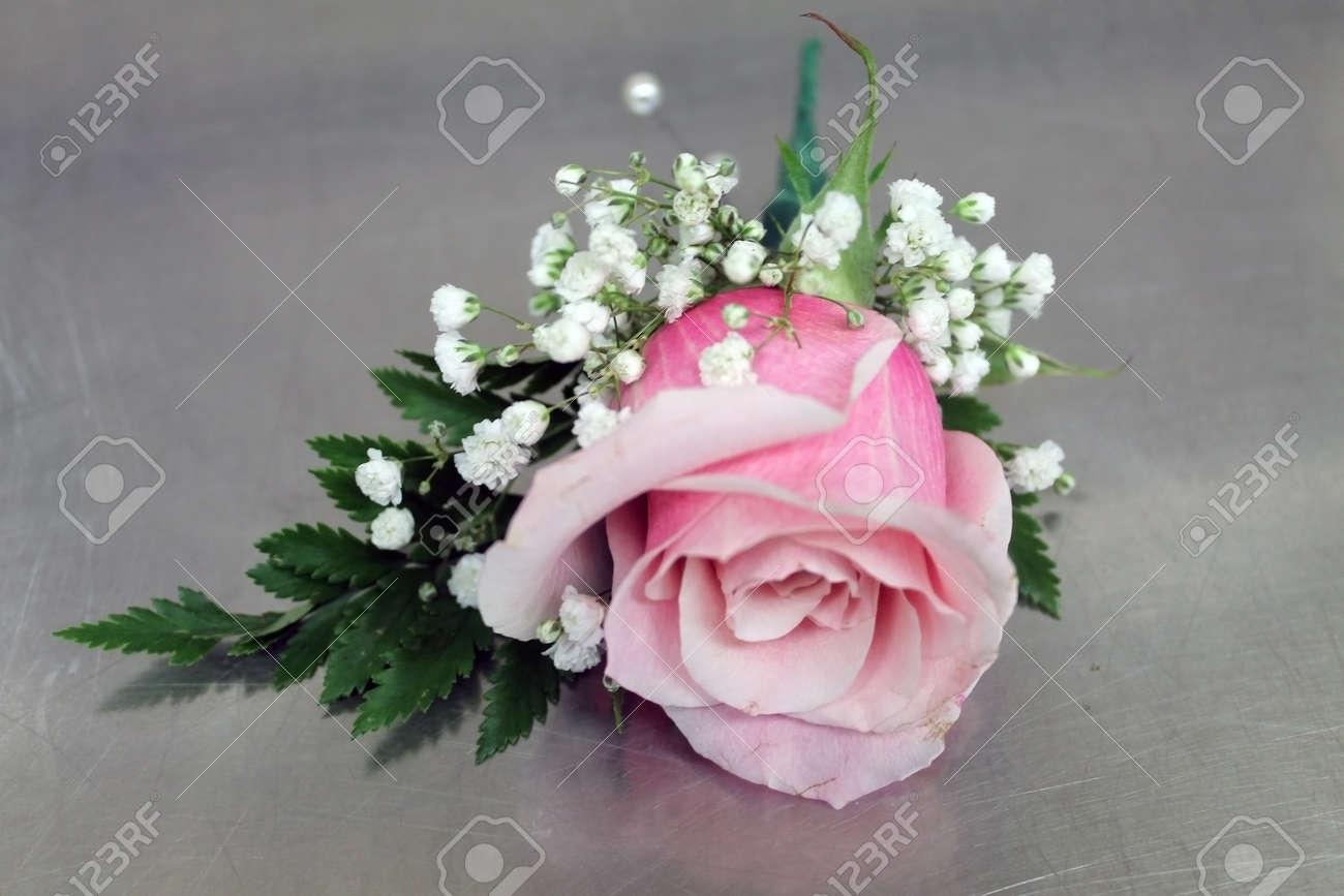 rose boutonniere Stock Photo - 25768540