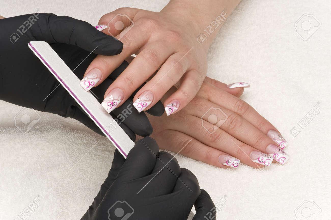 manicure Stock Photo - 12631879