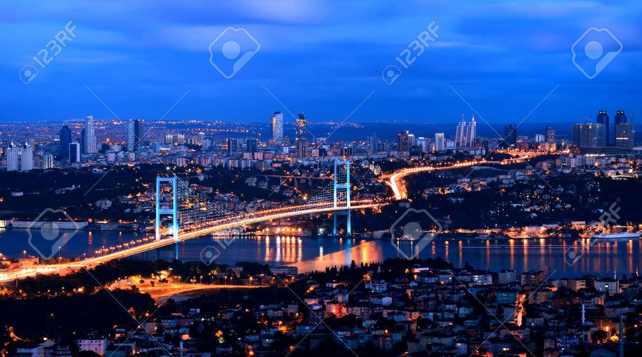 istanbul Bosphorus bridge by belkibirgun on DeviantArt