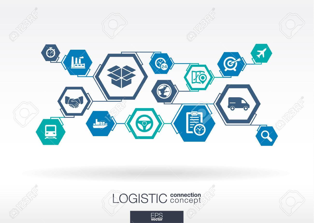 Logistic network. - 43347929