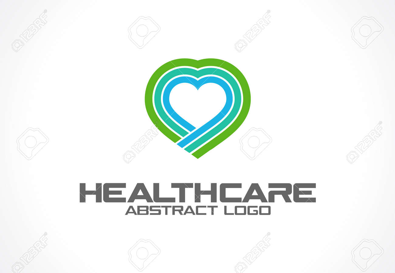 abstract logo for business company corporate identity design