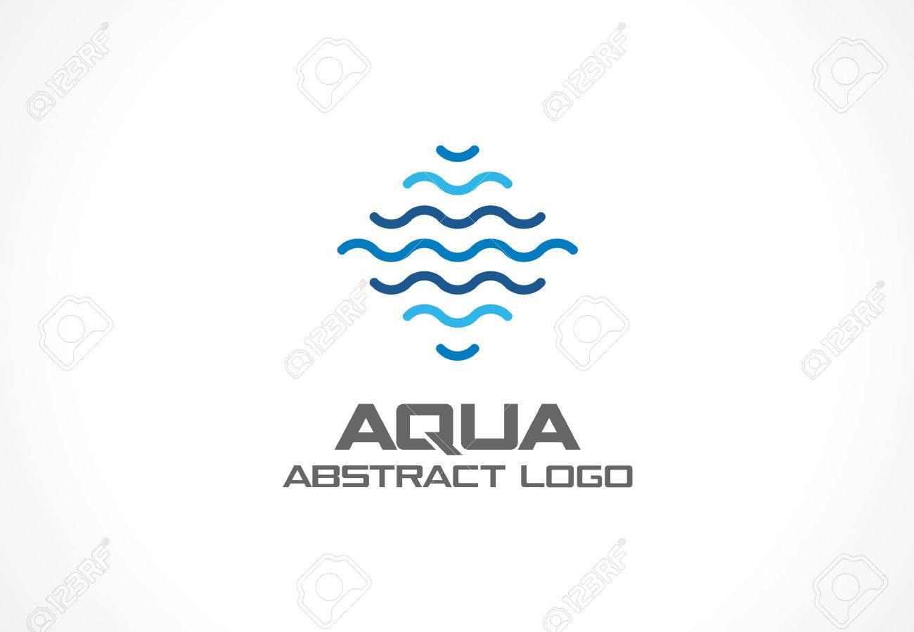 swimmingpool design ideen flachen, abstrakt-logo für business-unternehmen. corporate identity design, Design ideen