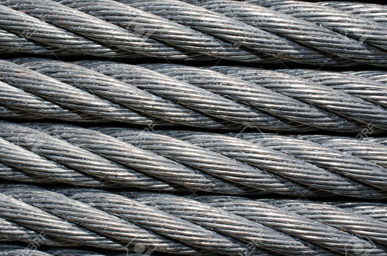 Industrial Strength Metal Cable Wire For Tie Down Or Zip Line ...