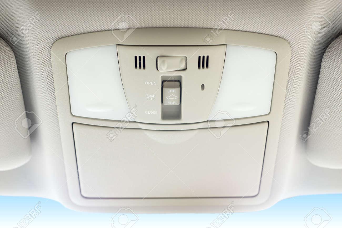 Schalten Elektrische Lüftungsluke Des Autos Lizenzfreie Fotos ...