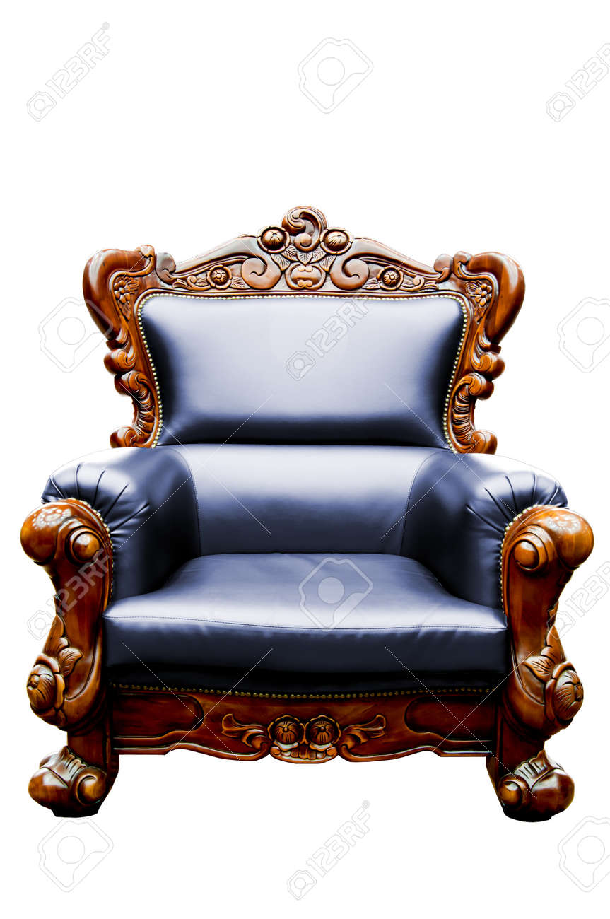 Donkerblauwe Leren Fauteuil.Vintage Donkerblauw Luxe Gea Soleerd Lederen Fauteuil