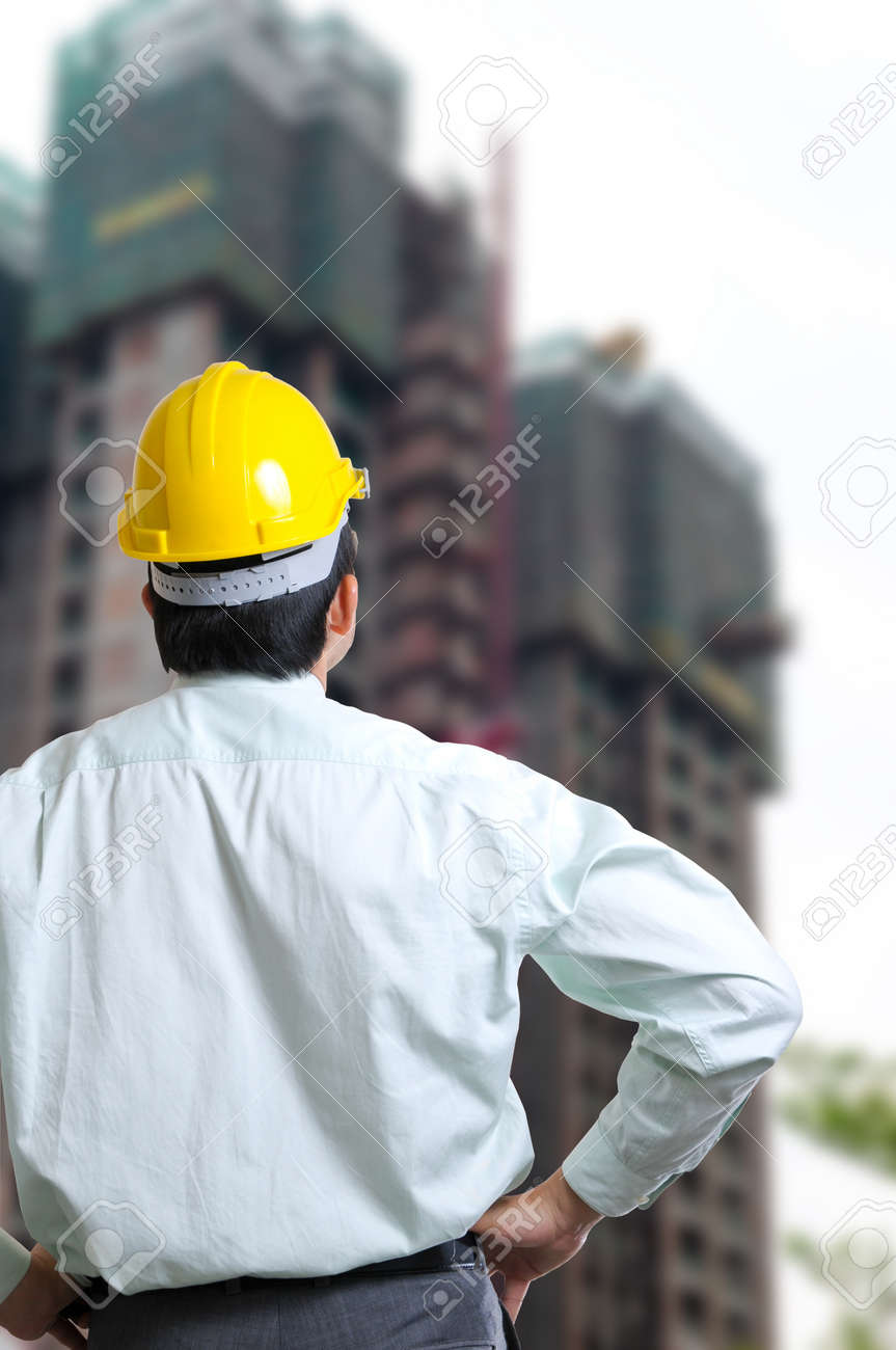 Engineer Manager with concept working Stock Photo - 13436010